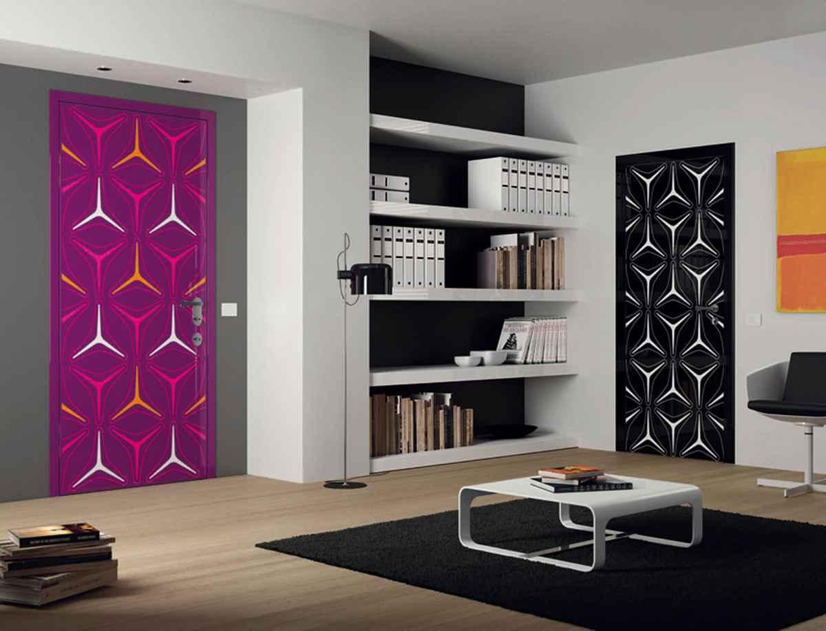 Декор на двери межкомнатные