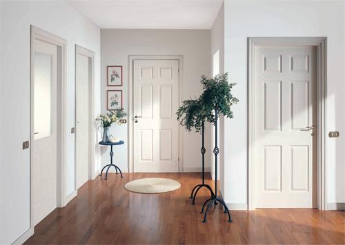 Как сделать дверь светлой