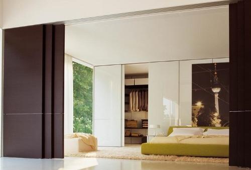 Подвесные двери с верхней рельсой