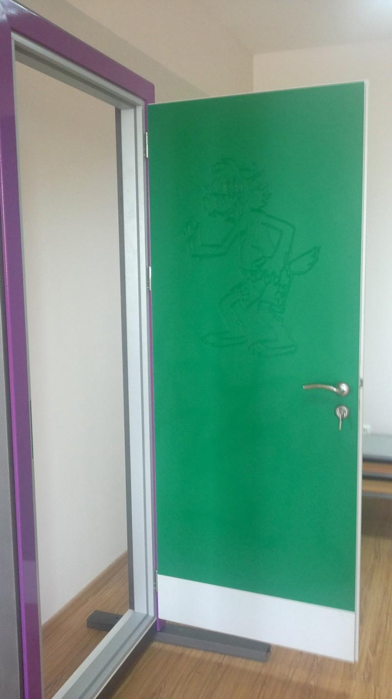 металлические двери для детских садов