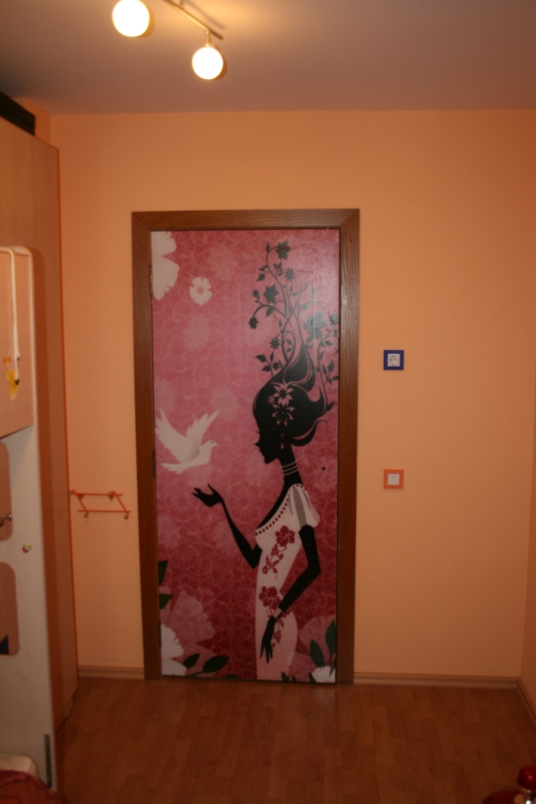 Декорирование дверей фото