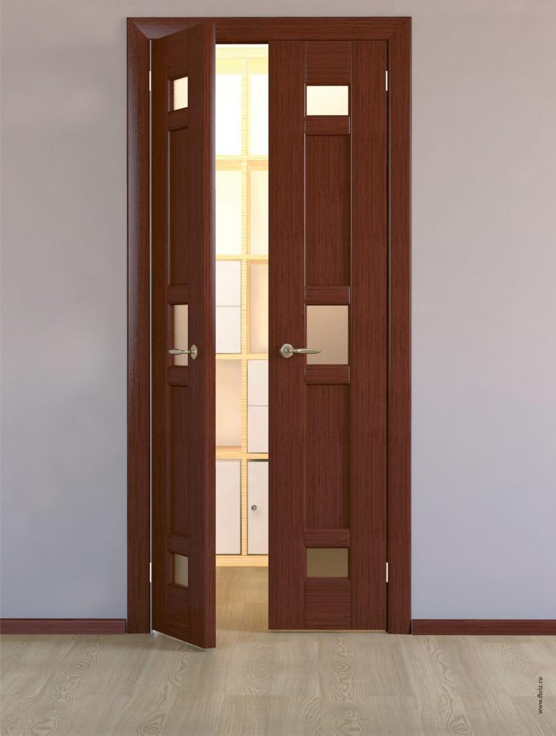 Двери межкомнатные двустворчатые фото