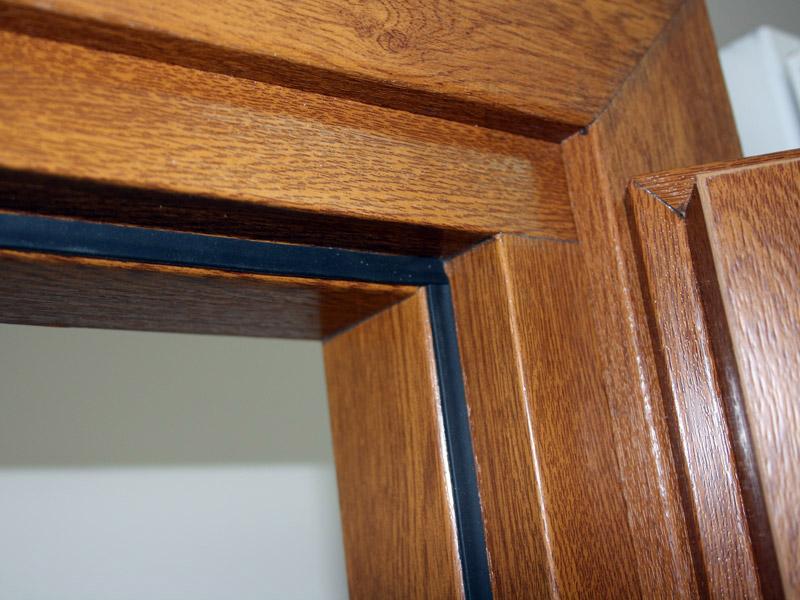 Сборка дверной коробки из пвх