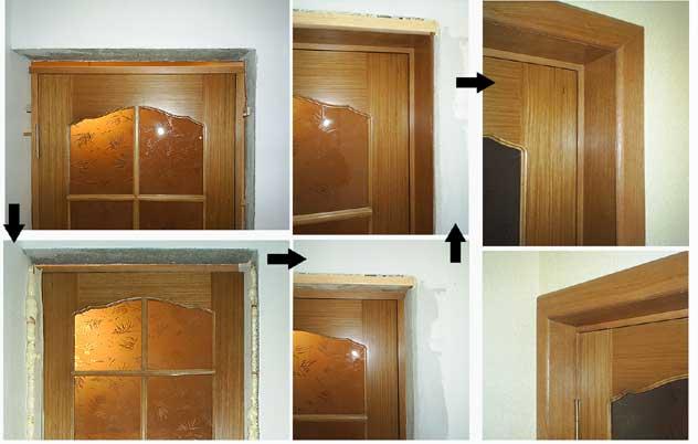 Установка межкомнатных дверей - Двери- установка и монтаж - Фотографии Портфолио - Муж на час Handyman...